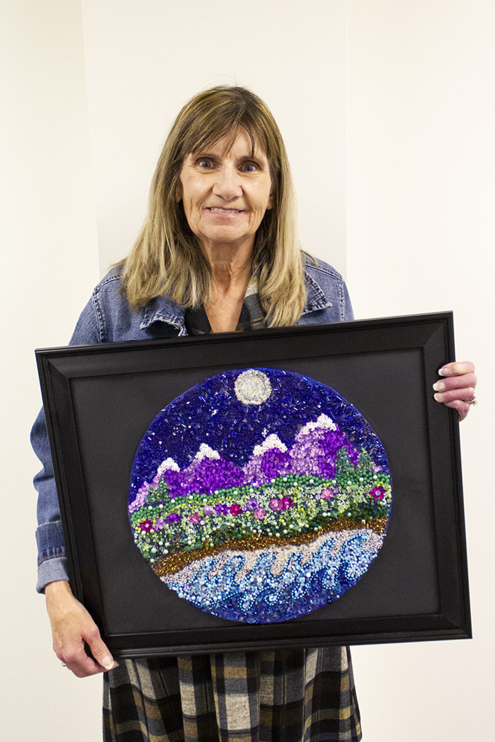 Barb Adams Celebrated Artist for the month of February